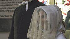 Charlotte Bronte and her groom The Rev. Arthur Bell Nicholls