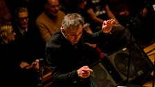 Conductor Charles Hazelwood leads his All Star Collective feat. members of Paraorchestra.