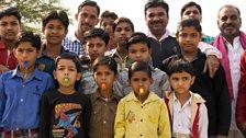 Vigilante children in Madhya Pradesh, India
