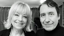 Mari Wilson and Jools Holland