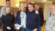 Mari Wilson with Jools...