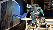Catapult camera at the ready