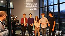 The strings finalists are Charlie Lovell-Jones, Stephanie Childress, Louisa Staples, Joe Pritchard, Sheku Kanneh-Mason