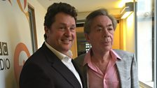 Andrew Lloyd Webber joins Michael Ball