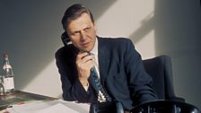 On the phone as Director of Programmes at the BBC