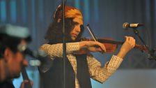 Andrew Gorman leader of klezmer band Don Kipper