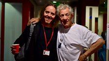 Ian McKellen and Tim Minchin
