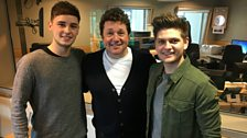 Joe and Jake join Michael Ball