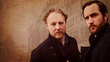 Brothers Aristide (Samuel West) and Eugene (Robert Jack)