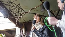 Lucy Cooke at London Zoo