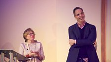 Sheila Dillon and Yotam Ottolenghi on stage