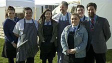 City of Bristol College catering students