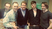 The Feeling join Michael Ball to perform live