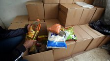 Bible Society food and clothing distribution centre