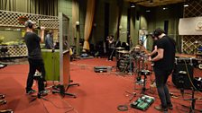 Lonely The Brave in session at Maida Vale Studios