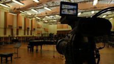 Studio 1 at Maida Vale Studios: the location of the finalists' rehearsals in preparation for the final