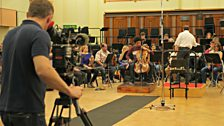 Sheku Kanneh-Mason rehearses with the BBC Symphony Orchestra for the first time