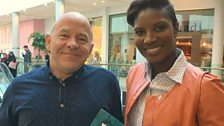 Dominic Littlewood and Denise Lewis