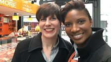 Michelle McGagh and Denise Lewis