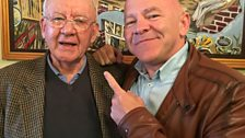 Dom meets local historian Mike Kelly