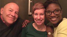 Dom, Denise & Sarah Pennells