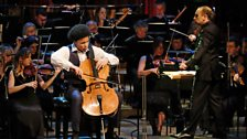 Sheku Kanneh-Mason plays with the BBC Symphony Orchestra and conductor Mark Wigglesworth for the final