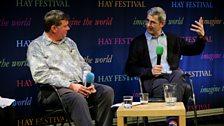 Jon Gower and Edmund de Waal