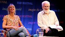 Clemency Burton-Hill and David Crystal