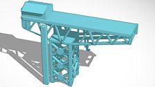 Titan Crane produced in Tinkercad