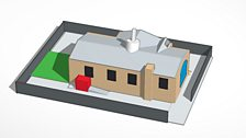 Bearsden Primary produced in Tinkercad
