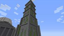 Corstorphine Hill Tower in Minecraft