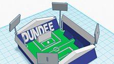 Dens Park, home to Dundee Football Club