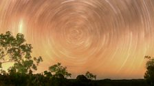 Circumpolar Star Trails from the Outback