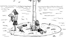Desert Island Cartoons from The New Yorker archive
