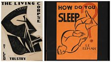 Two book jacket designs