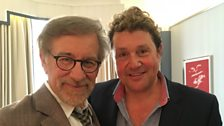 Michael Ball chats to Steven Spielberg!