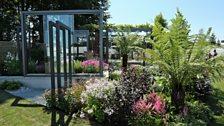 Bbc two best show garden through the looking glass for Pip probert garden designer