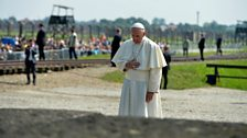 Pope Frances visits Auschwitz-Birkenau