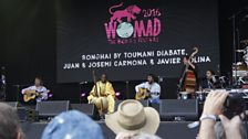 Malian kora player Toumani Diabaté revisited his 1988 Songhai project with Spanish band Ketama