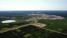 Christina Lake oil sands operation, south of Fort McMurray, Alberta