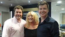 Rick Astley joins the team to perform live!
