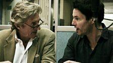 Nigel Havers (Carl) and Tam Williams (Tristan)