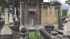 The grave of Marquis d'Hervey de Saint-Denys