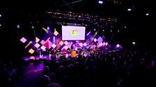 Global Beats at the BBC's big blue tent