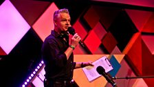 Global Beats host in Edinburgh, Vic Galloway