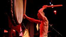 Kensaku Satou is a master Taiko drummer from Japan