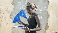 Student Abul Oyay Deng fled the conflict in 2013 to Nairobi, Kenya.