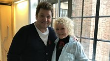 Petula Clark and Michael Ball