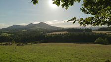 The Eildon Hills from Bemersyde