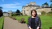 Margaret Livingstone-Evans, manager of the Ednam House hotel